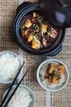 Chinesischer Mapo-Tofu
