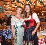 Ein attraktives Mutter-Tochter-Gespann: Dana Schweiger (r.) und ihre Luna Schweiger.