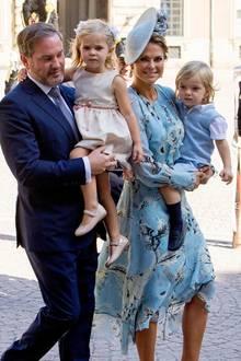 Prinz Gabriels Taufe: Deshalb waren Leonore und Nicolas nicht da