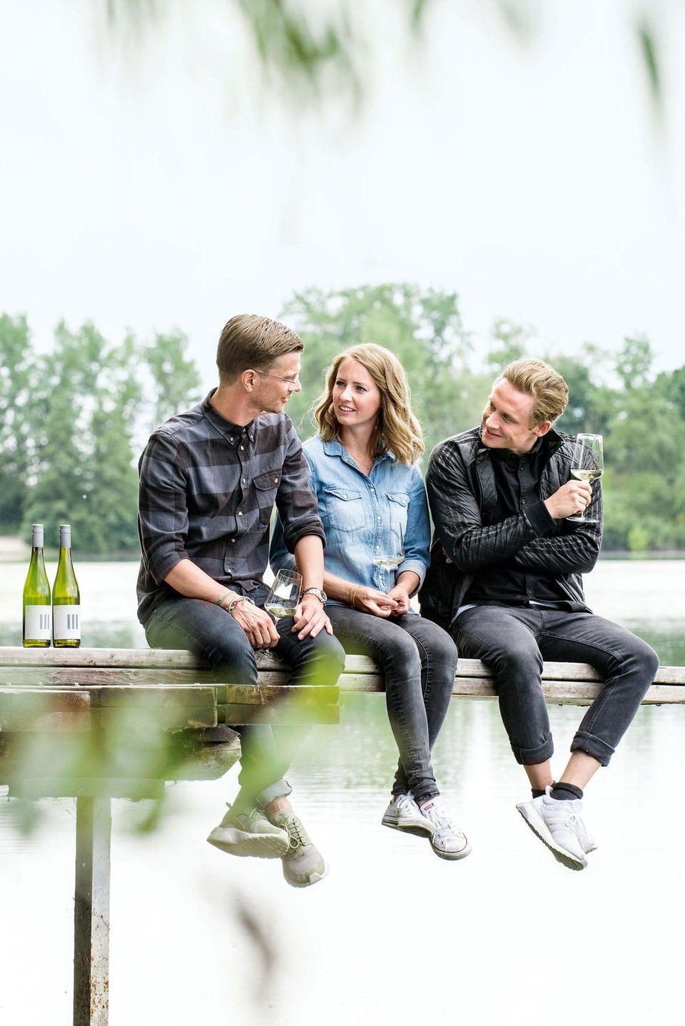 Joko Winterscheidt, Juliane Eller, Matthias Schweighöfer