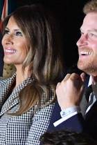 Melania Trump und Prinz Harry