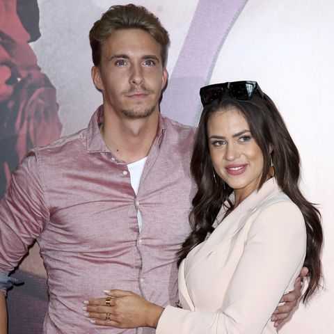 David Friedrich und Jessica Paszka
