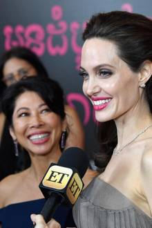 Loung Ung, Angelina Jolie