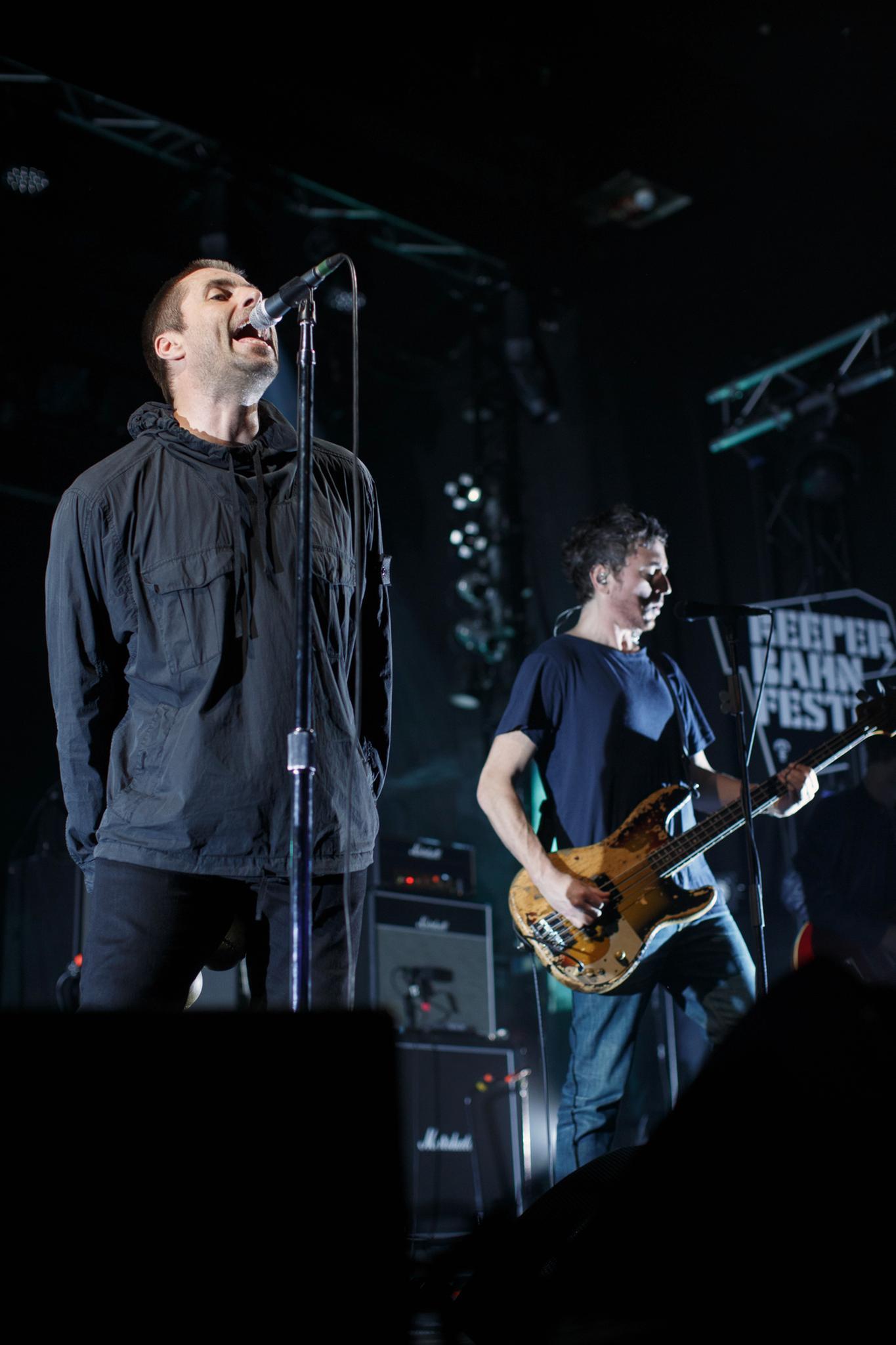 Liam Gallagher alias der Very Special Guest