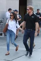 25. September 2017  Prinz Harry besucht mit seiner Freundin Meghan Markle die Invictus Games in Toronto.