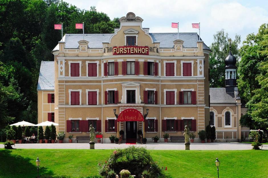 """Das Hotel Fürstenhof aus """"Sturm der Liebe"""""""