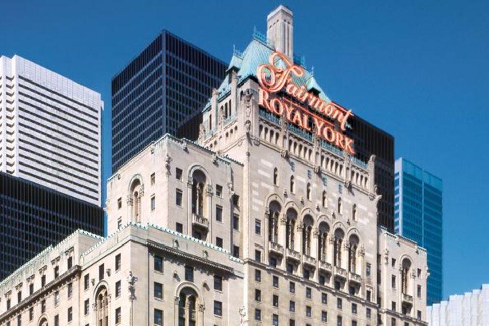 """Das Hotel """"Fairmont Royal York"""" befindet sich im Herzen Torontos."""