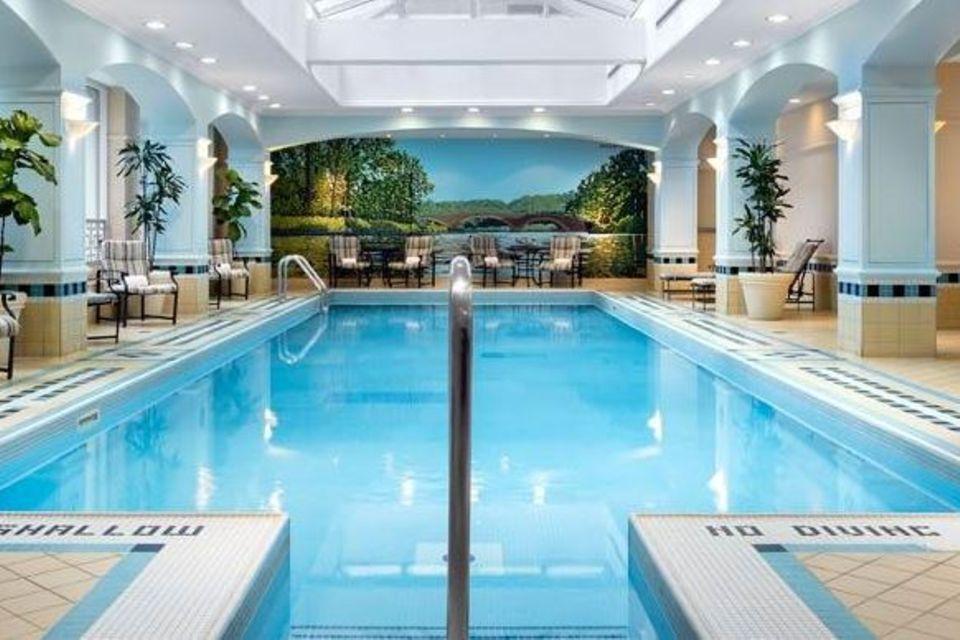 Ob Prinz Harry und Meghan Markle wohl in diesem Pool relaxen?
