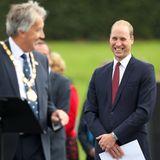26. September 2017  Die Stadt Milton Keynes feiert ihre 50-jähriges Bestehen und Prinz William ist an diesem Tag Ehrengast.