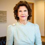 """26. September 2017  Königin Silvia ist zu Gast in Berlin und wird dort mit dem """"Theodor-Wanner-Preis"""" für ihr soziales Engagement ausgezeichnet."""