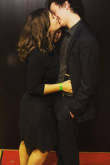 Ronja Forcher und Felix Briegel sind seit Sommer 2016 glücklich miteinander