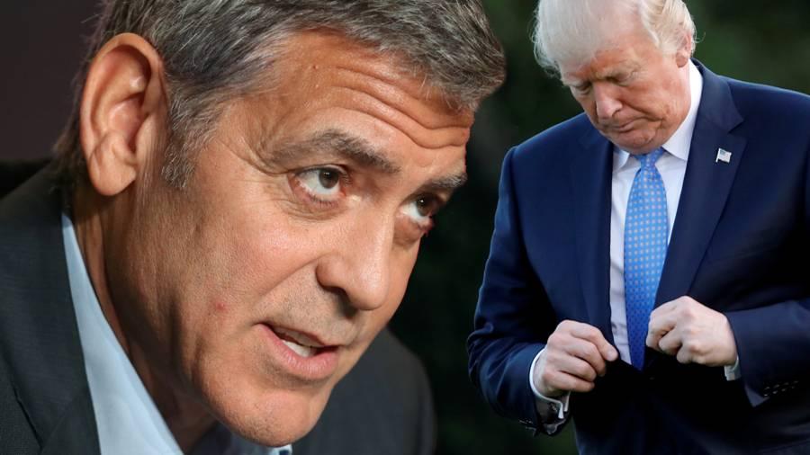 George Clooney: Hohn Und Spott Für Donald Trump
