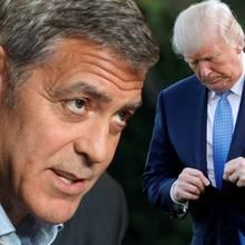 George Clooney, Donald Trump