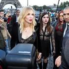Partnerlook in Paris: Courtney Love und Frances Bean Cobain