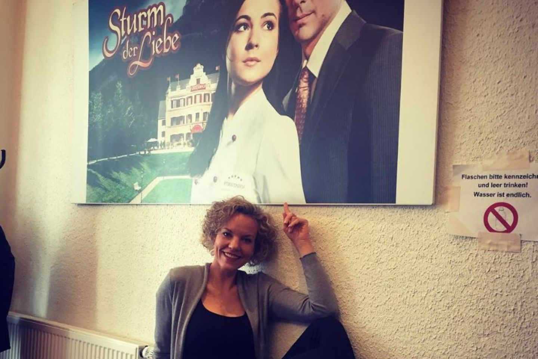 """Melania Wiegmann hinter den Kulissen von """"Sturm der Liebe"""""""