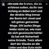 29. September 2017  In seiner Instagram-Story verkündet David Friedrich mit einem emotionalen Post die Trennung von Jessica Paszka.