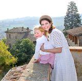 29. September 2017  Prinzessin Annemarie von Bourbon-Parma zeigt sich mit Prinzessin Luisa.