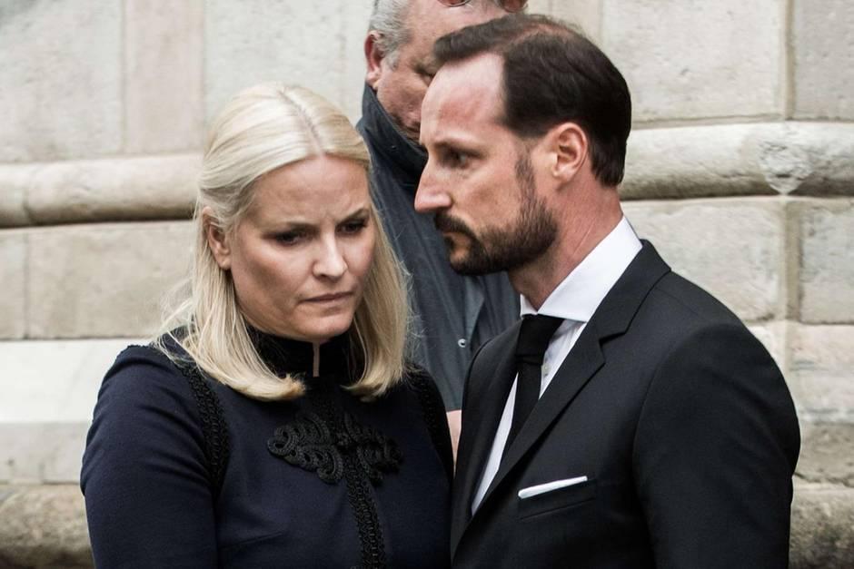 Das norwegische Kronprinzenpaar Mette-Marit und Haakon