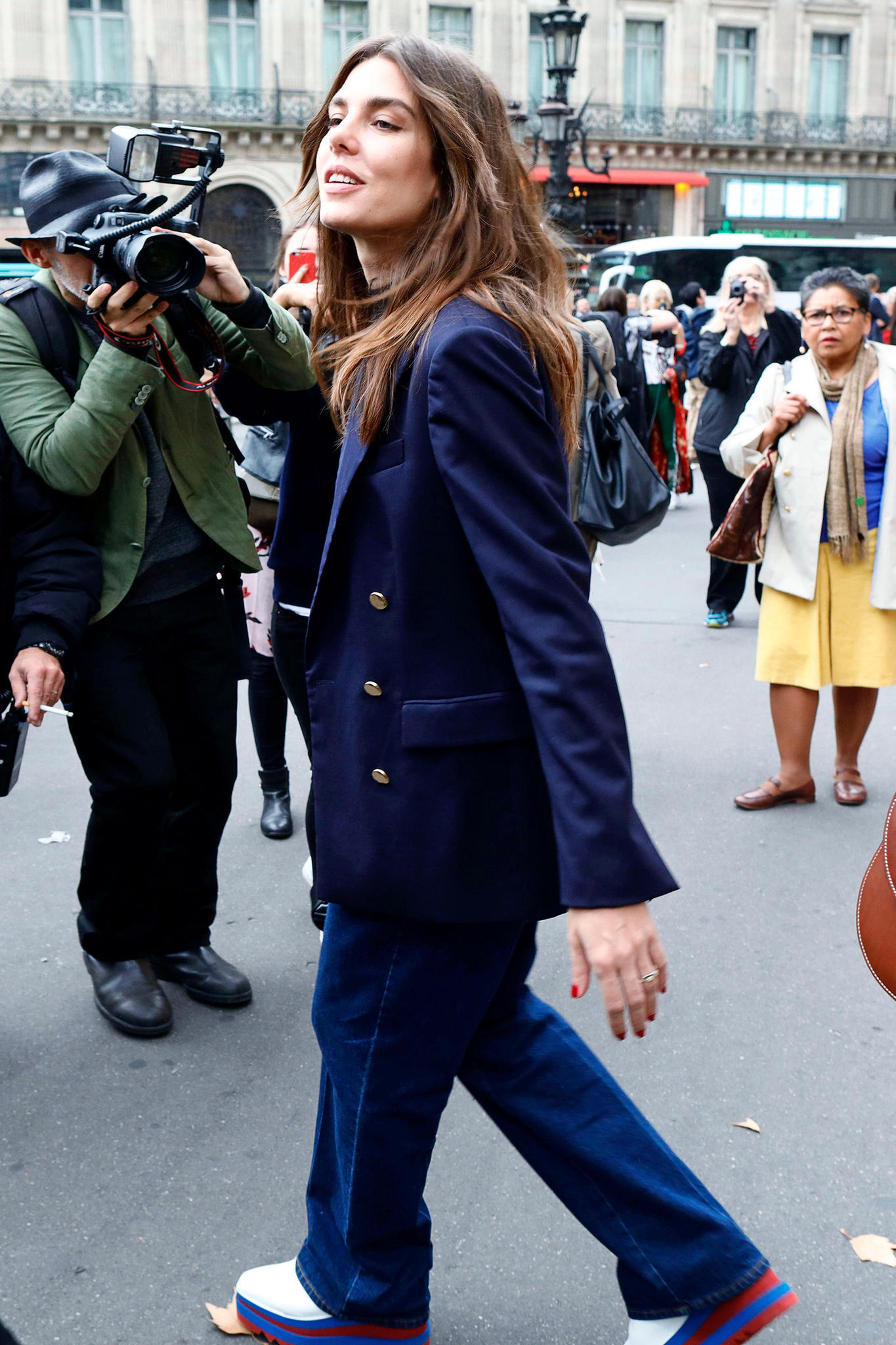 Charlotte Casiraghi Fashion Week