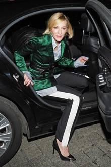 Auftritt Hollywood-Star! Cate Blanchett besucht in Paris die Boutique-Eröffnung von Louis Vuitton.