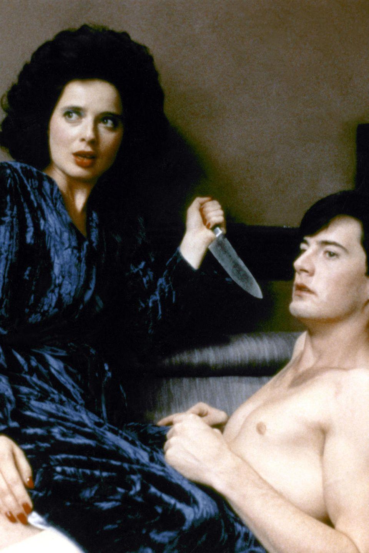 """Isabella Rossellini und Kyle Maclachlan in """"Blue Velvet"""""""