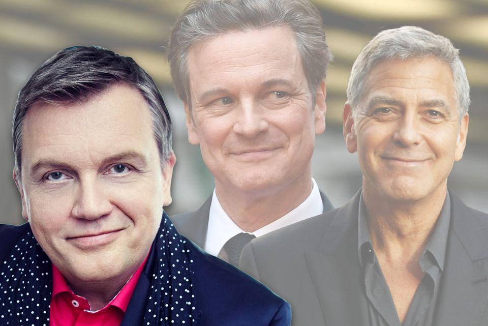 Hape Kerkeling, Colin Firth, George Clooney