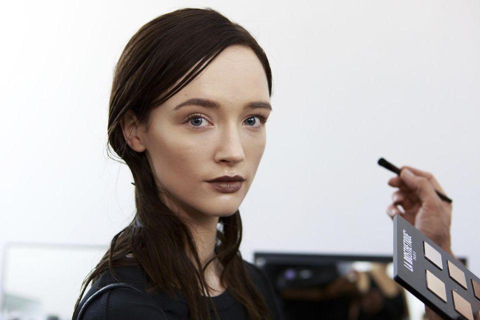 Beauty-Look für Nobi Talai bei Steffen Zoll