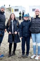Prinz Haakon, Prinzessin Ingrid Alexandra, Prinz Sverre Magnus + Prinzessin Mette-Marit