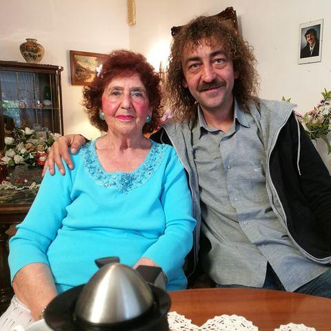 """""""Schwiegertochter gesucht""""-Kandidat Martin und Mama Edeltraud"""