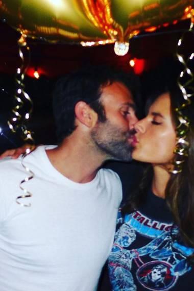 25. September 2017  Von Geburtstagspartys und ganz viel Knutscherei: Jamie Mazur und seine schöne Alessandra Ambrosio.