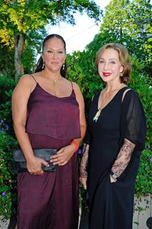 Allegra Curtis + Christine Kaufmann (†)