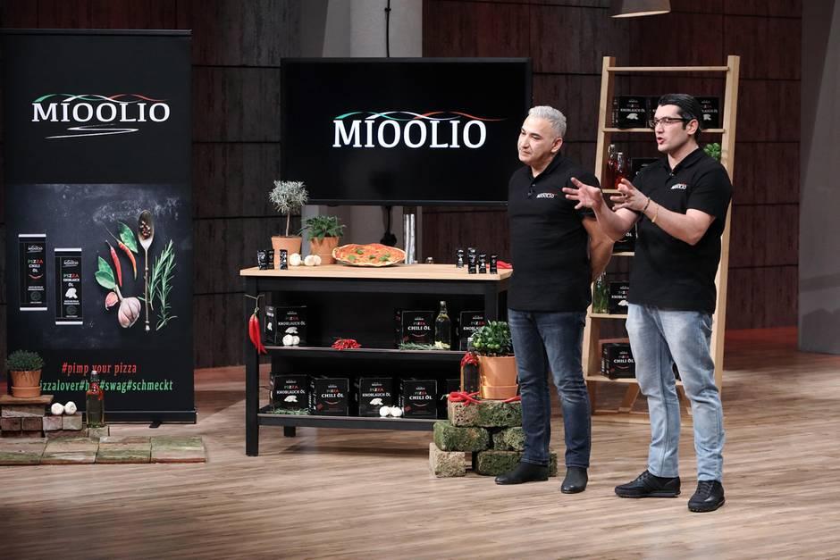 Gründer und Pizza-Freunde Taner Gecer und Gino Luigi Stella