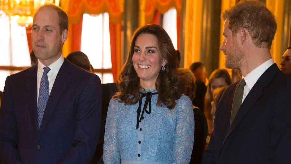 Prinz William, Herzogin Catherine, Prinz Harry
