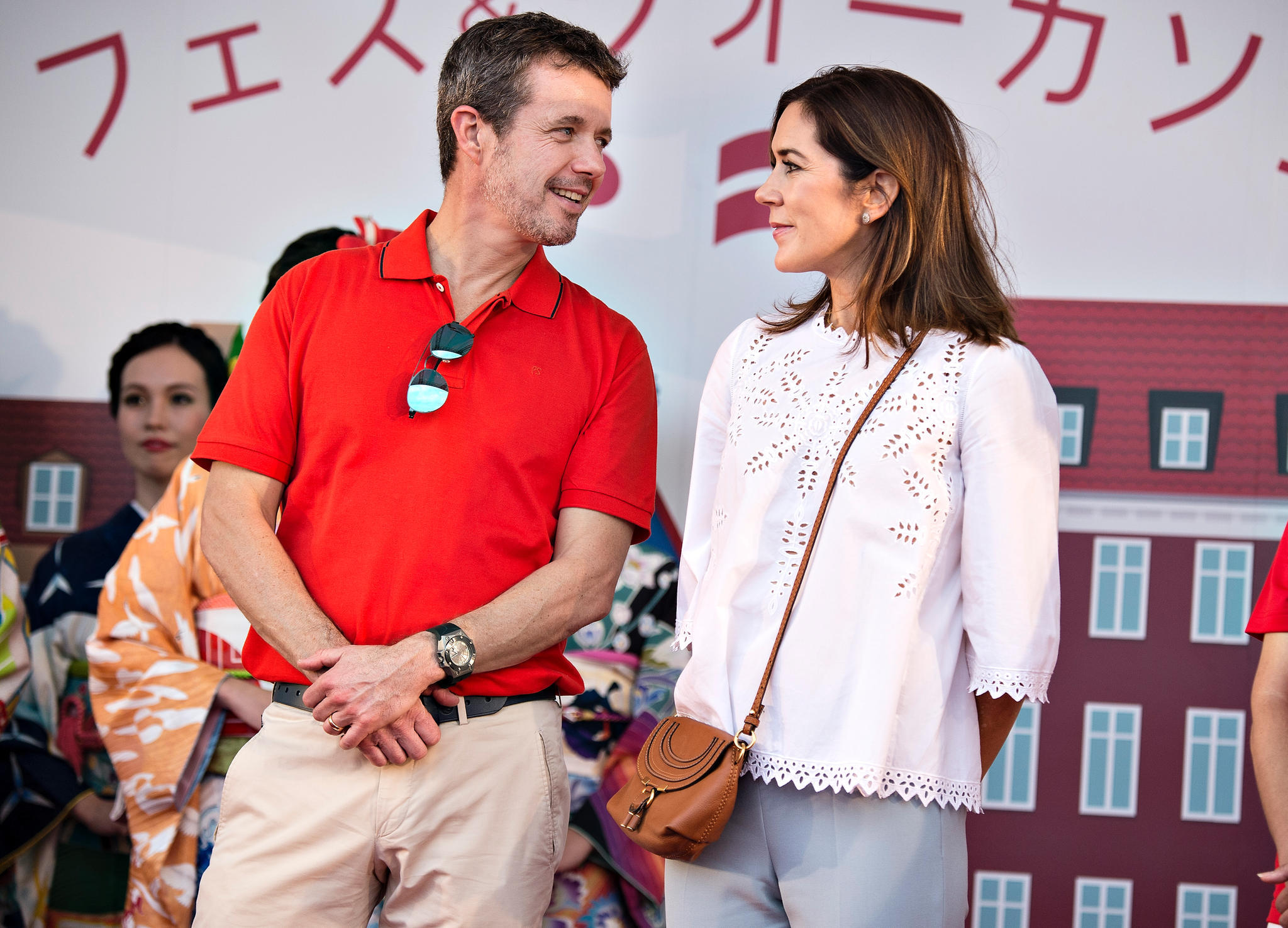 Prinz Frederik und Prinzessin Mary am 8. Oktober 2017 in Japan