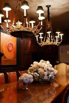"""""""Ich wünschte ihr könntet alle diese duftenden Blumen riechen"""". Hollywoodstar Catherine Zeta-Jones legt beim Thema Inneneinrichtung sehr viel Wert auf liebevolle Details."""