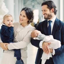 Prinzessin Sofia, Prinz Alexander, Prinz Carl Philip, Prinz Gabriel