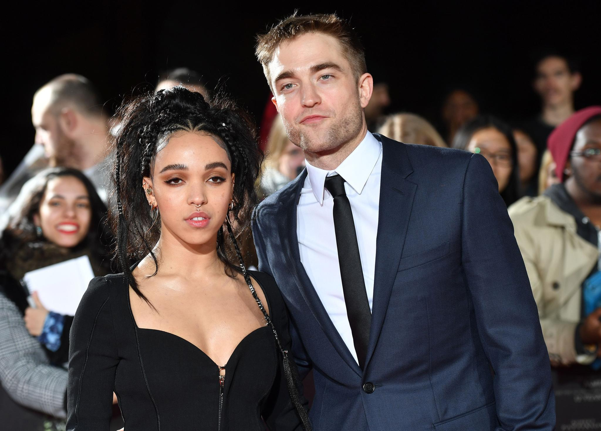 FKA twigs und Robert Pattinson