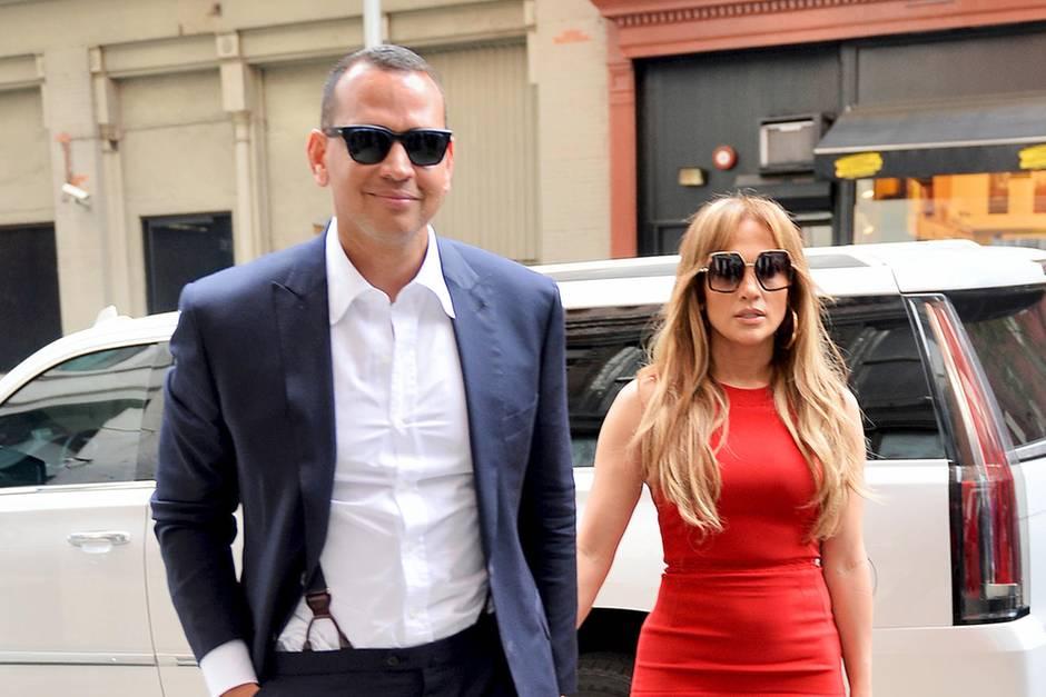 Jennifer Lopez undAlex Rodríguez