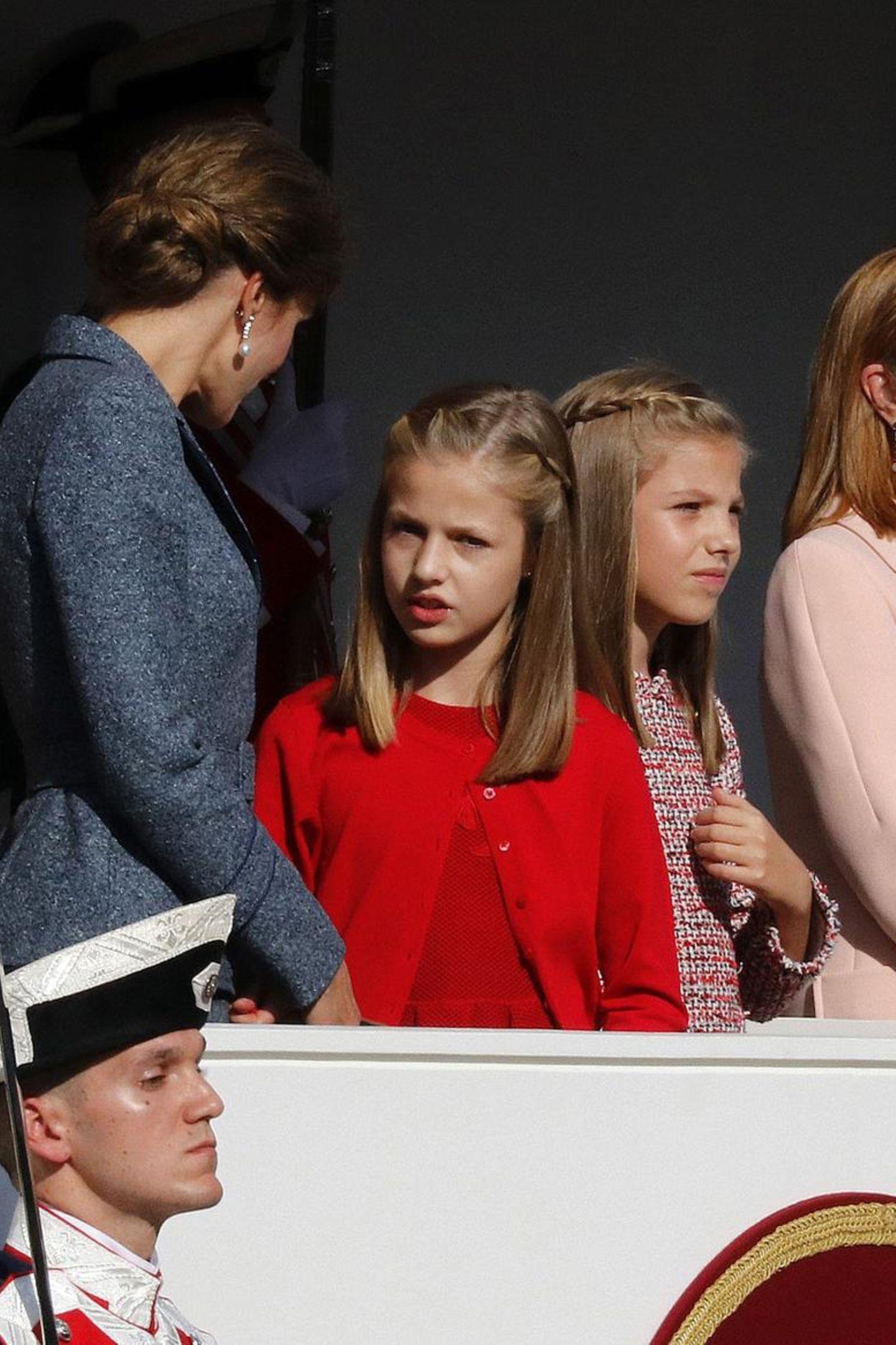 12. Oktober 2017  Deswegen sind bei den jungen Prinzessinnen auch noch einige Fragen offen, die Letizia ihnen ruhig beantwortet.