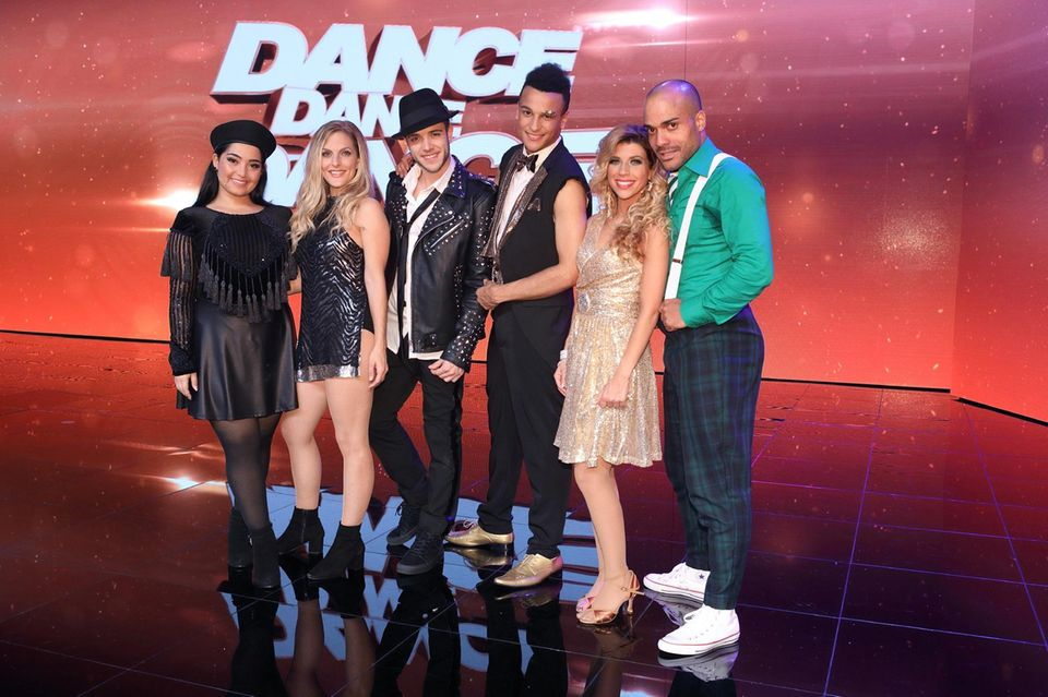 """Die Finalisten von """"Dance Dance Dance"""""""