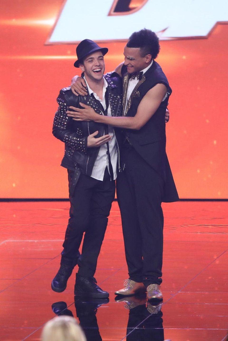 """Luca Hänni und Prince Damien gewinnen """"Dance Dance Dance"""""""