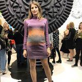 """Zur """"Oreo""""-Shoperöffnung in Berlin erschien Cathy Hummels in einem enganliegendem Kleid und betonte damit ganz besonders ihren Babybauch"""