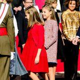 Auch die Ballerinas der Prinzessinnen sind echte Designer-Stücke von Carolina Herrera.