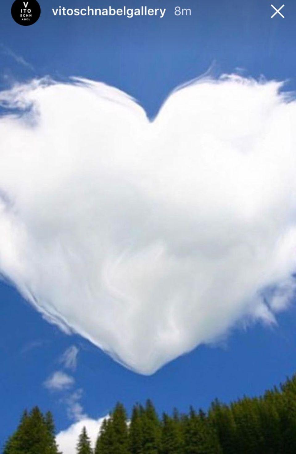 Ein Herz für Heidi? Dieses Foto postete Vito am 17. Oktober in seiner Instagram-Story