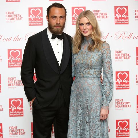 James Middleton und Donna Air