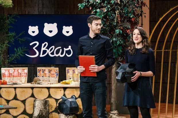 """Tim Nichols und Caroline Steingruber stellen """"3Bears"""" vor"""