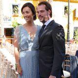 2. September 2017  Bei der Hochzeit von Antonius Willms und Prinzessin Marie-Gabrielle von Nassau in Spanien ist das luxemburgische Prinzenpaar unter den Gästen.