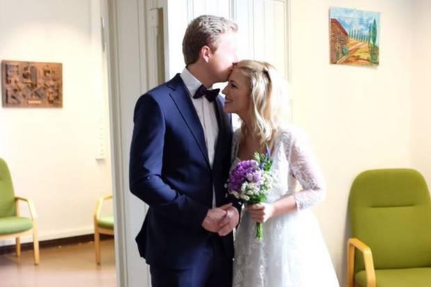GZSZ-Star Iris Mareike Steen bei ihrer Hochzeit