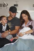 Sarah Stage und ihre Familie