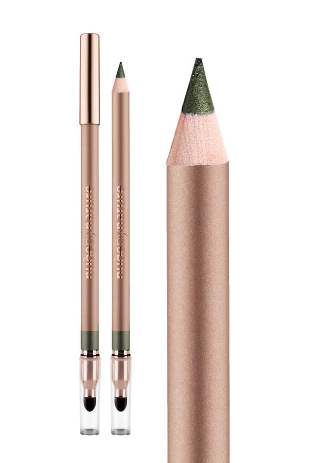 """Kajal """"Contour Eye Pencil – Rainforest"""" von Nude by Nature, ca. 18 Euro"""